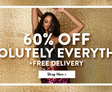 boohoo 60% off plus free delivery